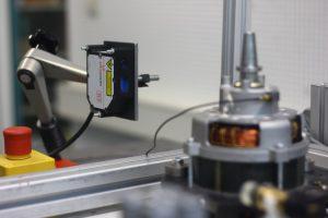 Messung Schwingung mit Laser-Sensor